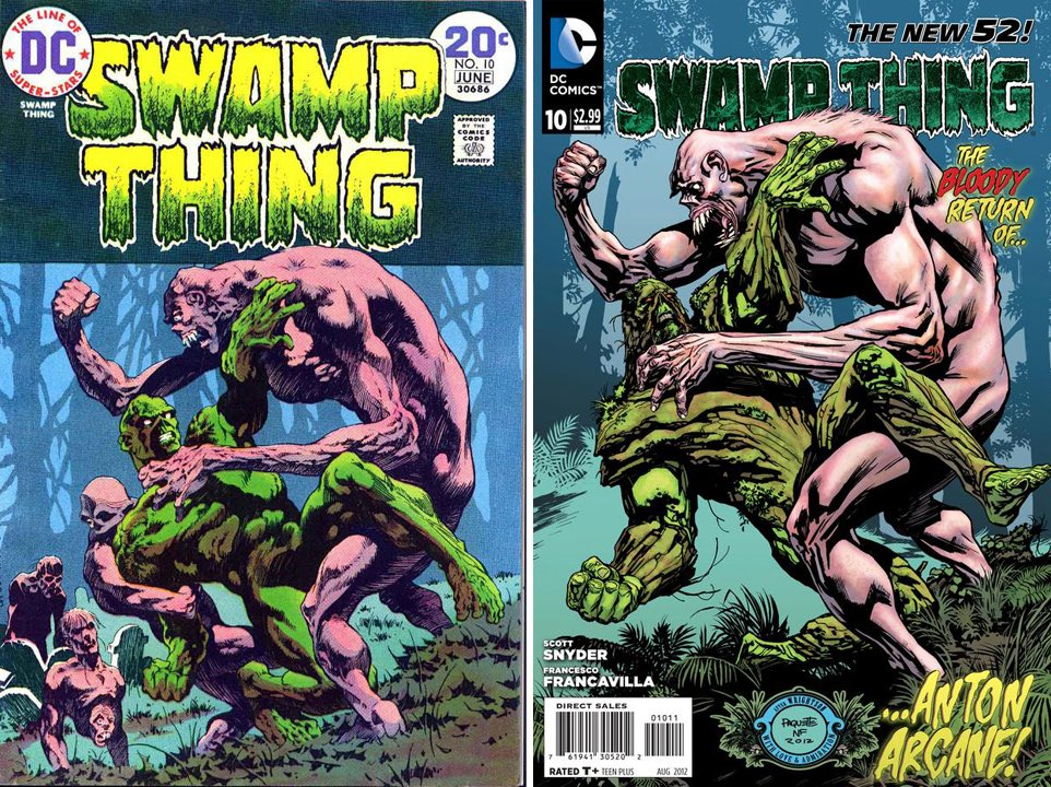 #BernieWrightson #SwampThing issue 10 and my new52 issue 10.