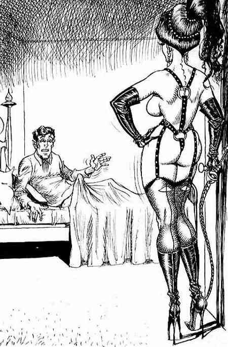 Femdom Chastity Comics