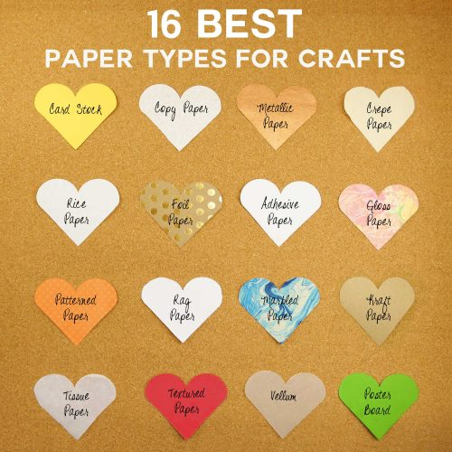 16 Best Paper Types for Amazing Crafts