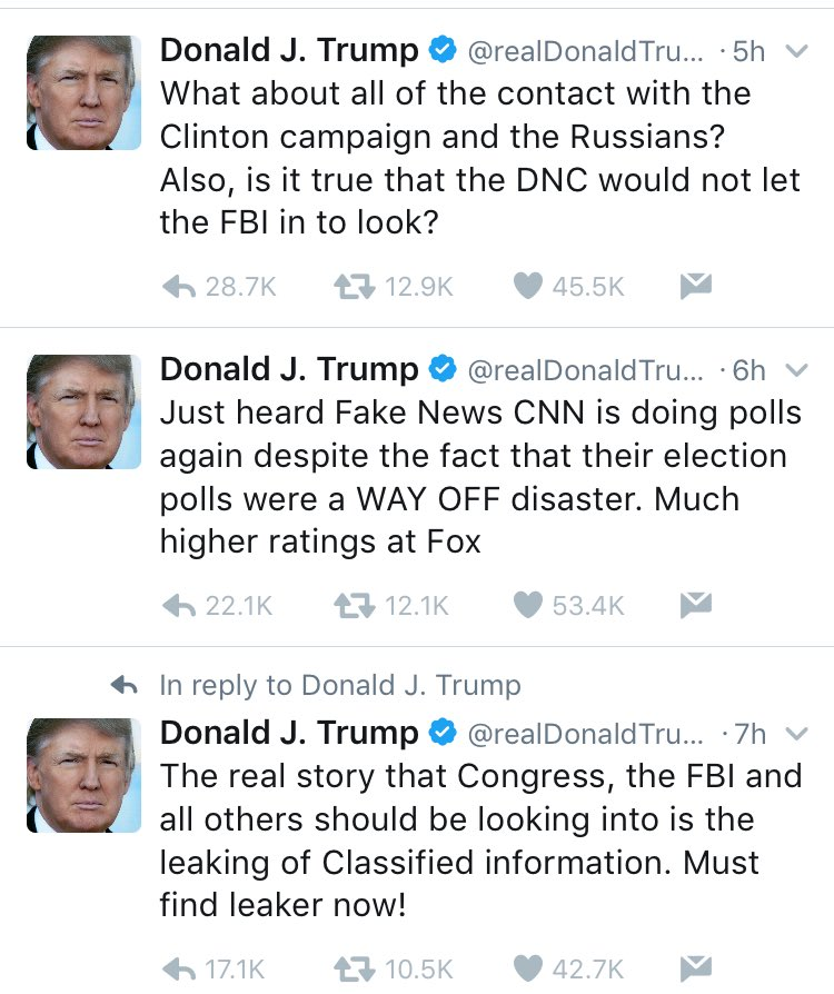 Getting Nervous...  They are Coming For You   #Trumprussia #ComeyHearing #TrumpLeaks <br>http://pic.twitter.com/1oJ1w58Ij5