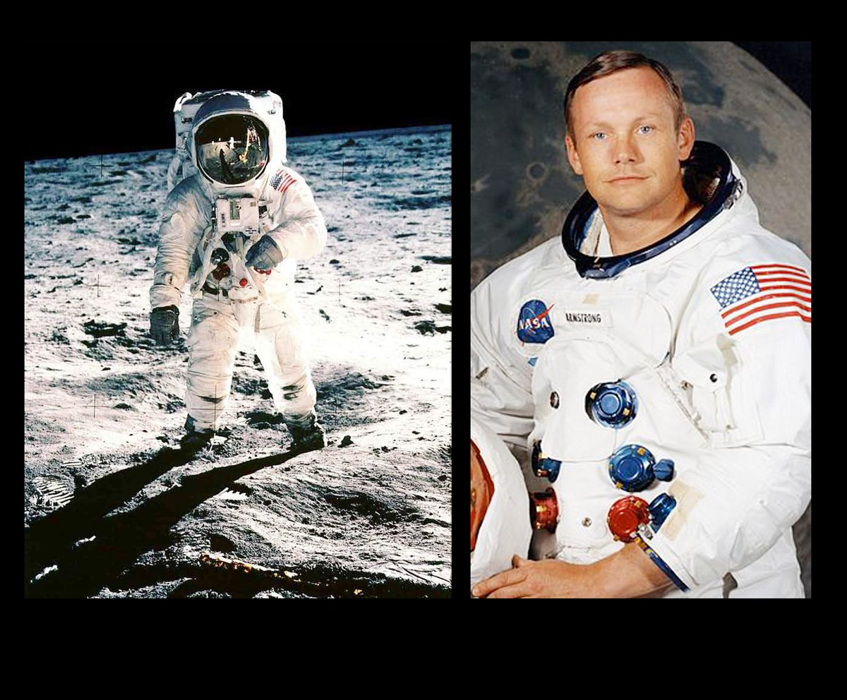 Neil Armstrong played a #VeryLimitedRole in the (fake) moon landing. h...