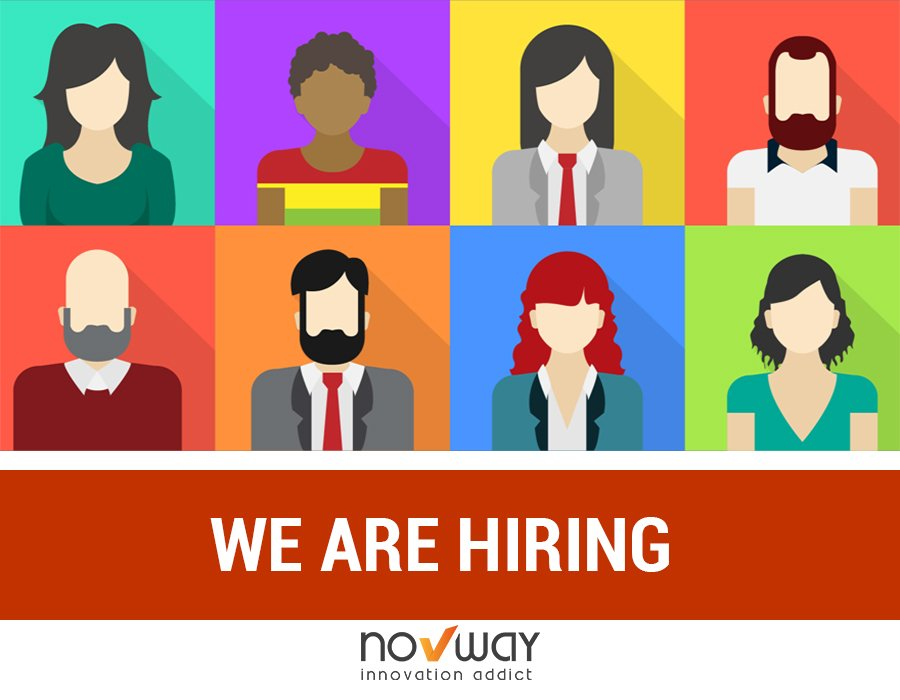 🎯 We are hiring ! Plus d'informations sur les postes disponibles sur https://t.co/mDfQ3ZtJWg #Novway #InnovationAddict https://t.co/yBh3l7R22m