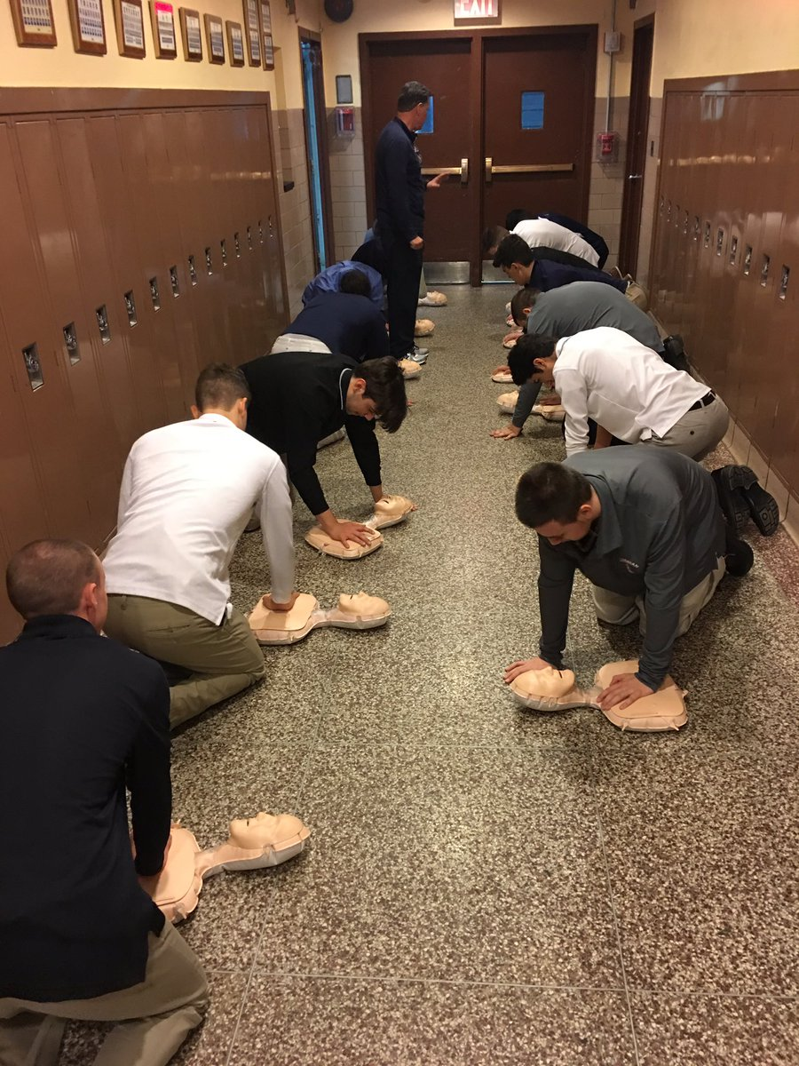 Kevin mccormack on twitter kudos to mr salzone and his senior kevin mccormack on twitter kudos to mr salzone and his senior health class getting ready for the cpr certification exam xaverianhs clipperpride xflitez Images