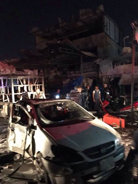 VBIED attack in the Iraqi capital on Monday,killing at least 23 people and wounding 45 others in southwestern Baghdad