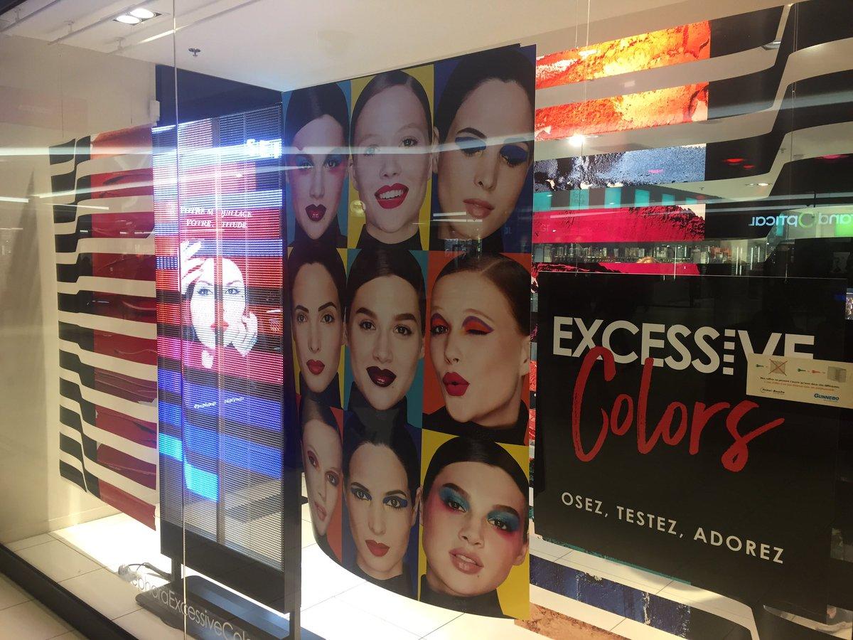 Quand les vitrines de #Sephora mêlent écrans #led et impressions #complémentarité<br>http://pic.twitter.com/RU9G9SxDzP