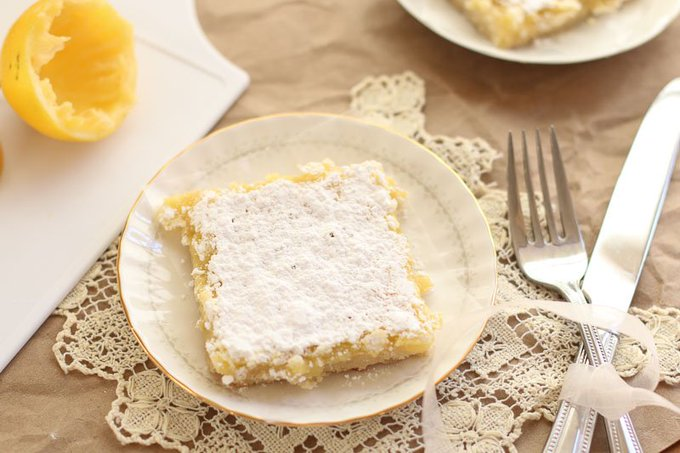 The Best Lemon Bars Recipe