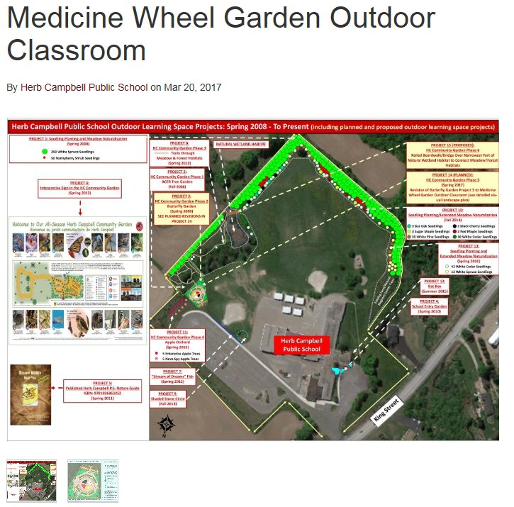 Herb Campbell PS on Twitter For more details on our latest ongoing – Medicine Wheel Garden Plans