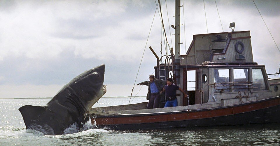 The shark played a #VeryLimitedRole in Jaws. https://t.co/1DGcmfz52n