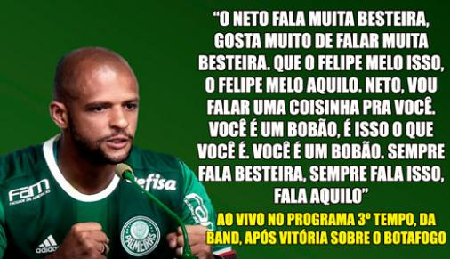 Felipe Melo Palmeiras Frases Mais Ousadas Felipe Melo Pelo