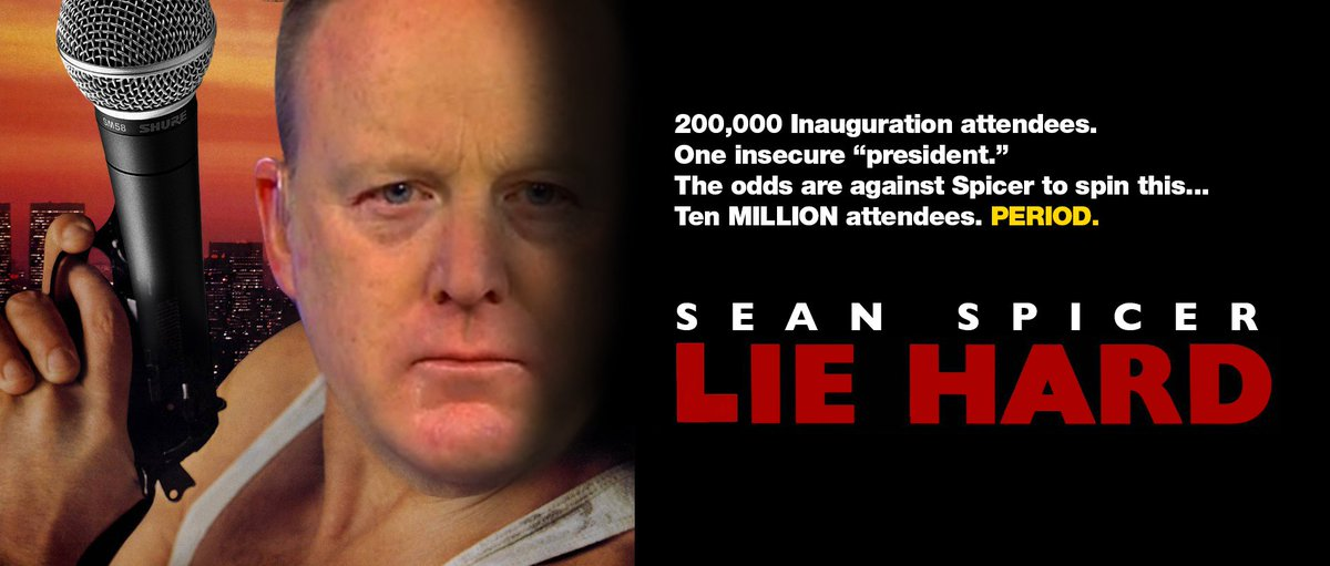 Bruce Willis had a #VeryLimitedRole in Die Hard. – Sean Spicer https:/...