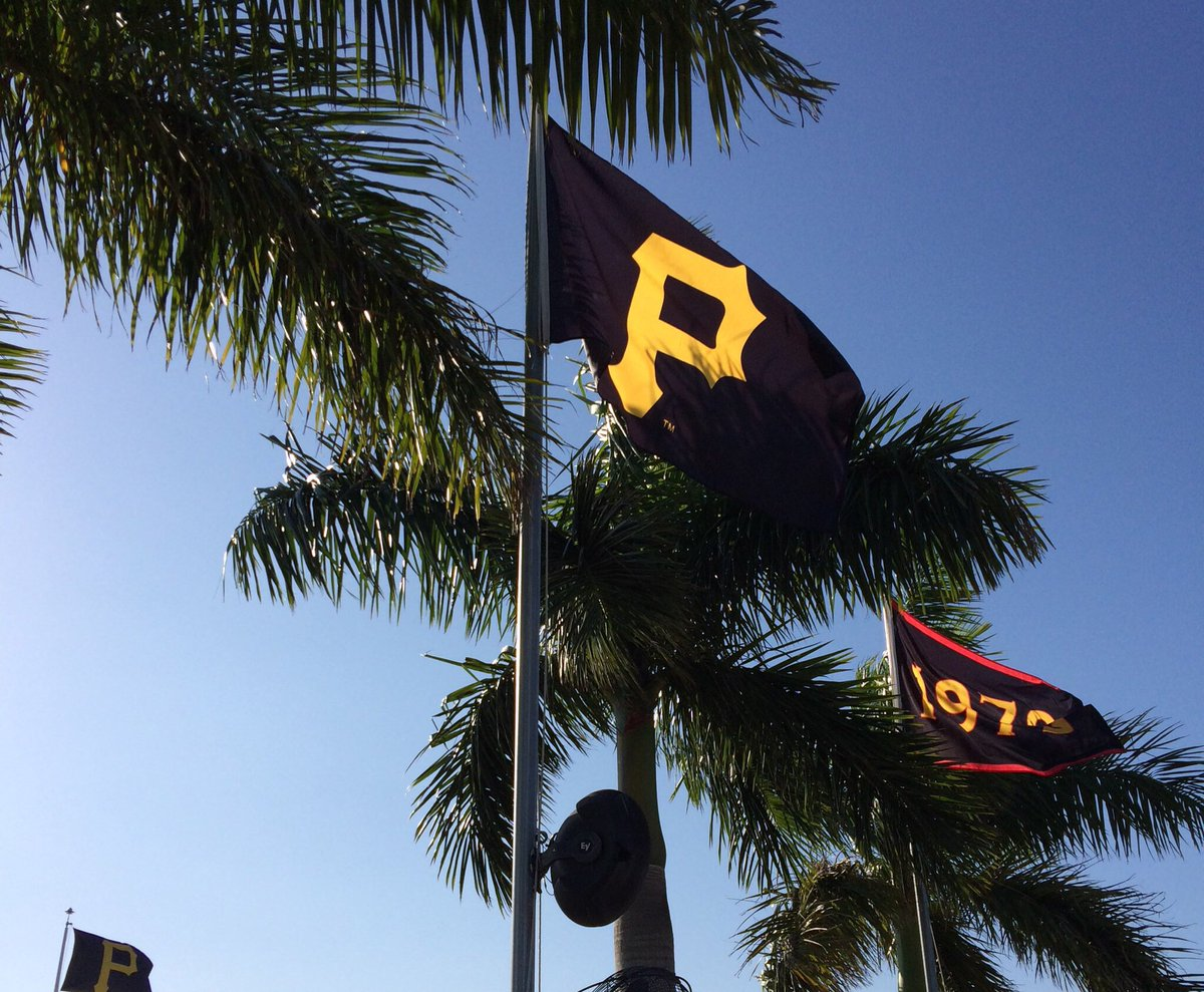 That's it. Your Bucs win it 5-4 today in Port Charlotte! #Raiseit #Pir...