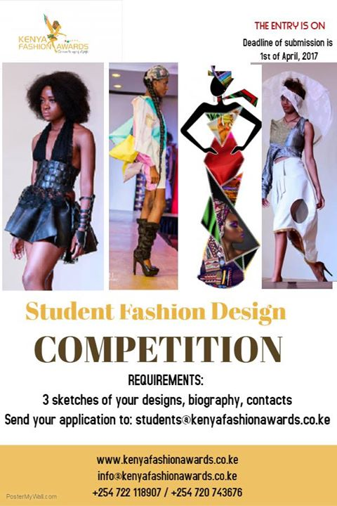 Kenya Fashion Awards On Twitter Kfa Student Designers 11 Days To Go Send Your Applications Don T Be Left Out Your Fashion Designing Career To The World Starts Here Https T Co D492v17o73