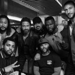 Last week on the #DenOfThieves set. Going to miss these dudes.