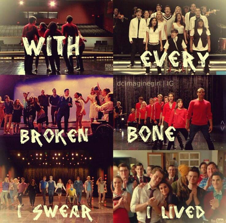 Yeah, it's over, but always will be part of my life 💕 #2YearsWithoutGlee #GleekForever