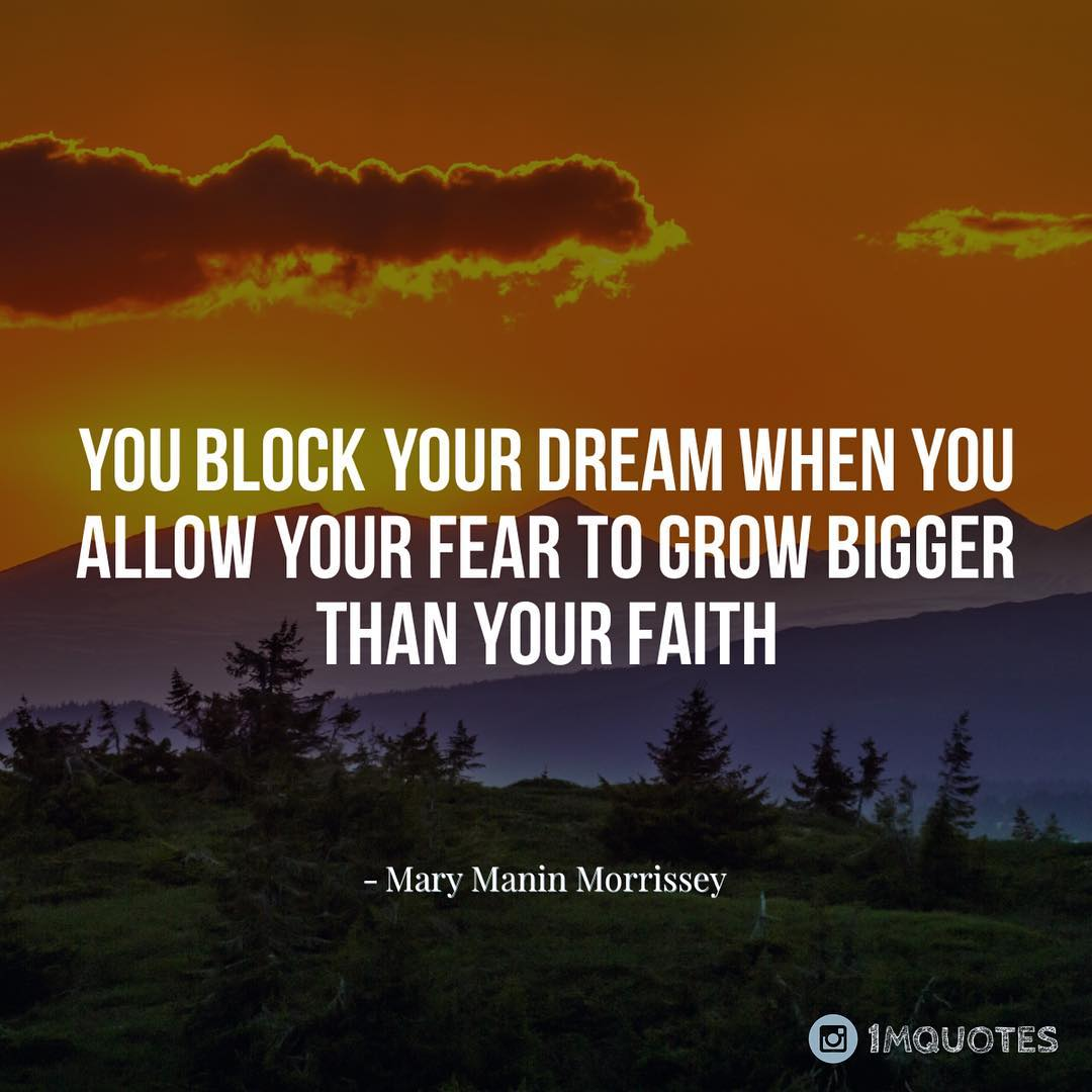 "Quotes on Twitter: ""You Block your #dream when you allow your ..."