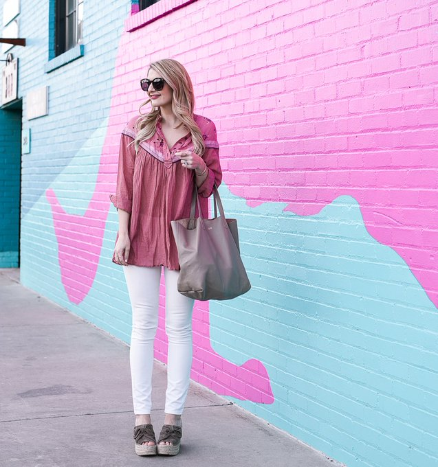 Colorful Walls and Comfy Tunics