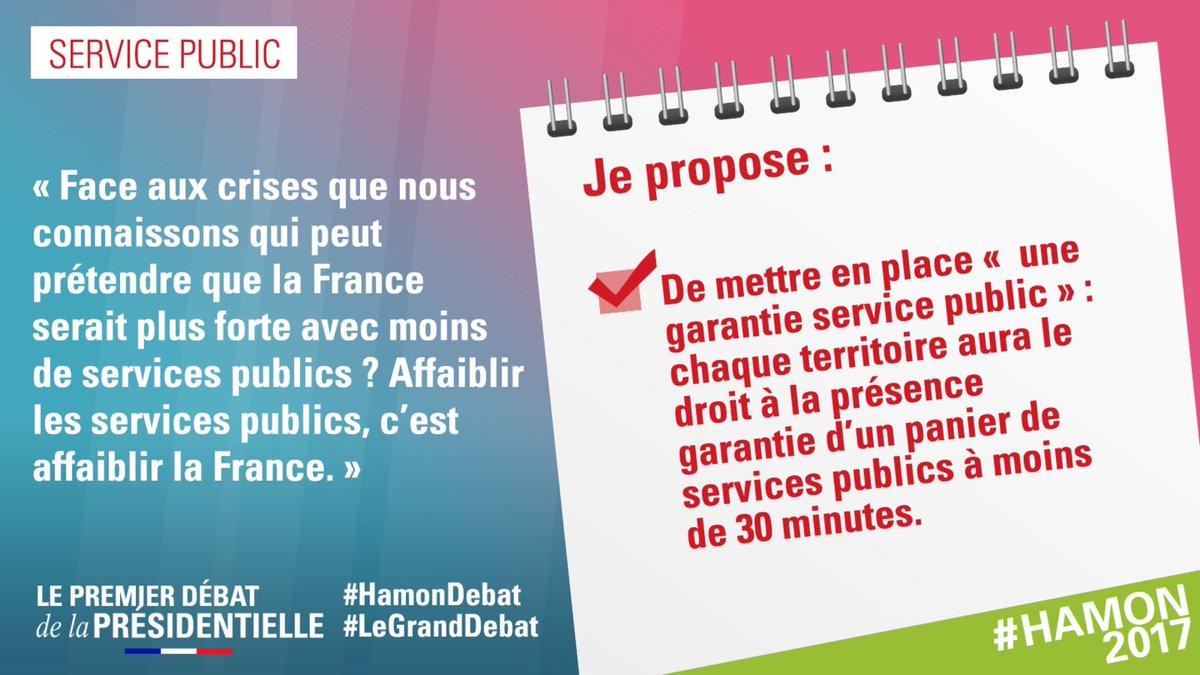 .@benoithamon propose de mettre en place une garantie «Service public» #HamonDebat