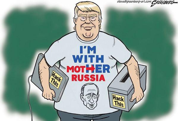 .@realDonaldTrump told #Russia to hack @HillaryClinton &amp; @DNC. It&#39;s on video. Check it. @Rosie @HamillHimself @Martina<br>http://pic.twitter.com/mCQK6cQ4eP
