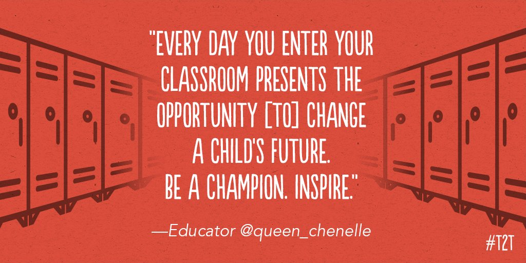 The future lies just inside your classroom door. #MondayMotivation, vi...