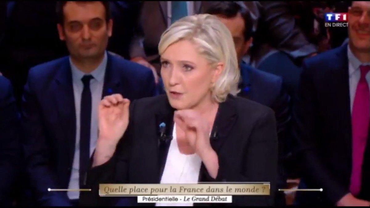 Marine Le Pen vient de ridiculiser Macron comme jamais. 😂 #DébatTF1 #LeGrandDebat