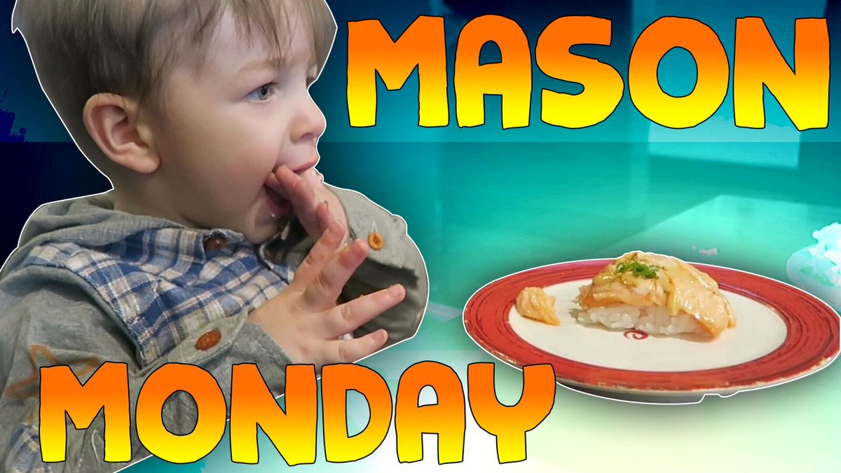 Mason Monday is back! Check out the new vlog: https://t.co/QA4TlH4bGf...