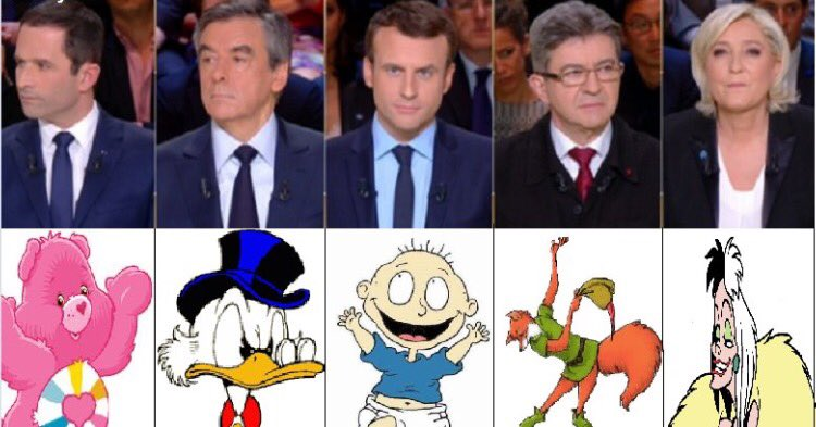 Ça résume pas mal non? #LeGrandDebat #DebatTF1 #CartoonHD #firstdayofspring