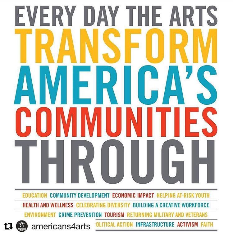 Every day is #artsadvocacy day here at #acmms #spartanswill @CALmsu @Americans4Arts https://t.co/3oCK7vtRgo