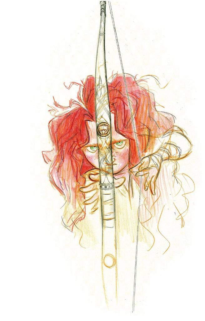 'I am Merida, firstborn descendant of Clan DunBroch. And I'll be shoot...