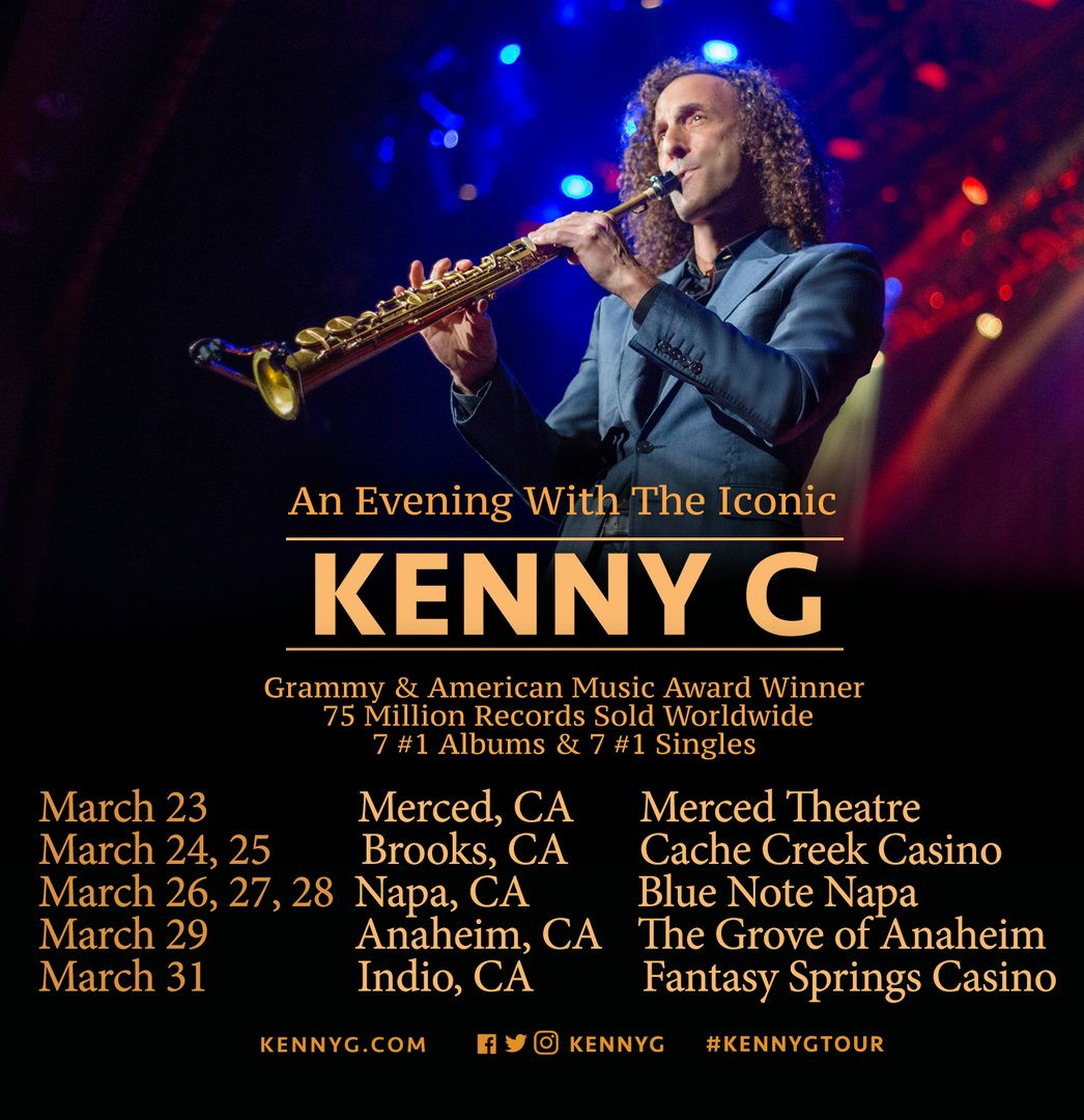 California is about to get a whole lot of sax! Get your tickets at htt...