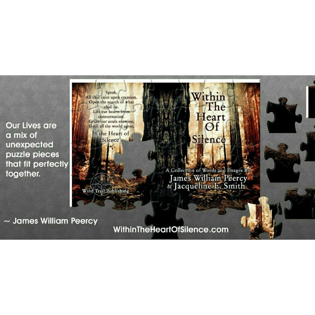 James william peercy jameswpeercy twitter our lives are a mix of unexpected puzzle pieces that fit perfectly together thank you newappleawards bookreviews awardwinning poetrycommunity poetry fandeluxe Image collections