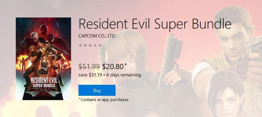 「Resident Evil Super Bundle」的图片搜寻结果