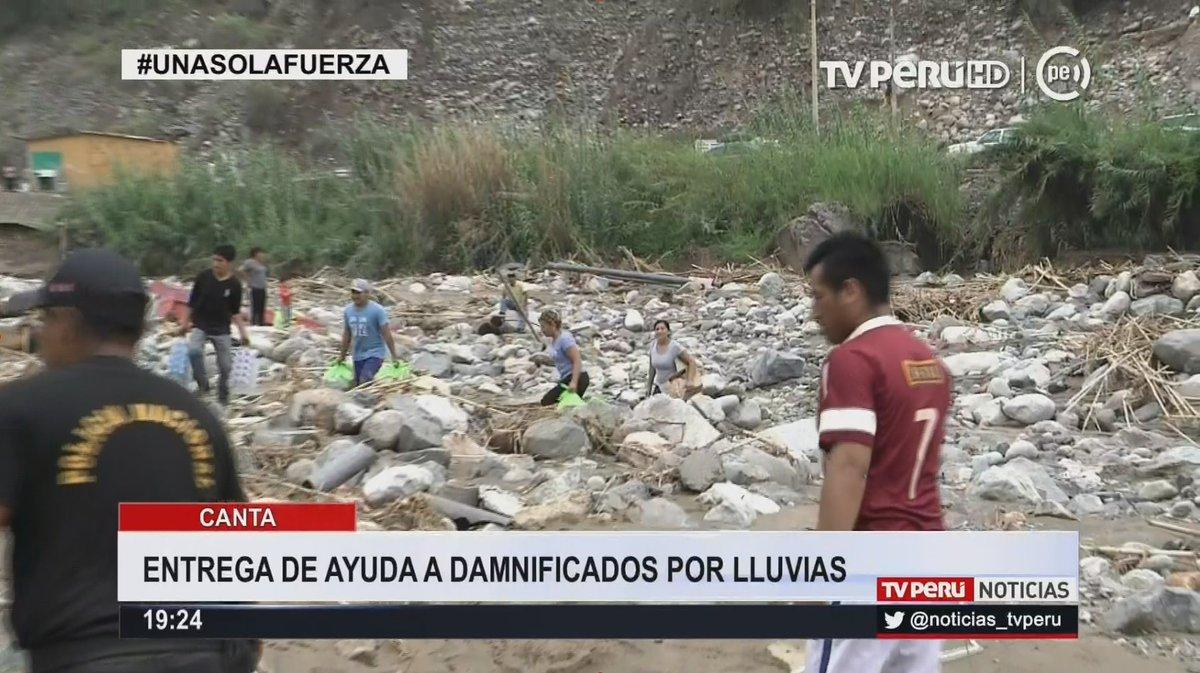 #Canta: entrega de ayuda a damnificados por #lluvias ► http:// bit.ly/2mOrAQY  &nbsp;   #UnaSolaFuerza #SomosTodos<br>http://pic.twitter.com/8t9pRvTGrJ