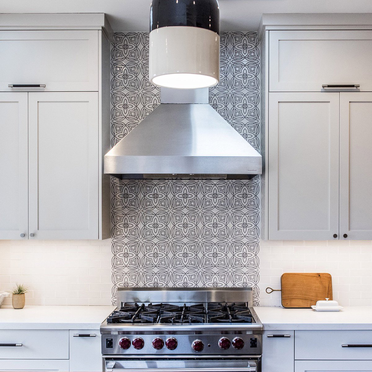 "Kitchen Tiles Malta fireclay tile on twitter: ""this handpainted backsplash was created"