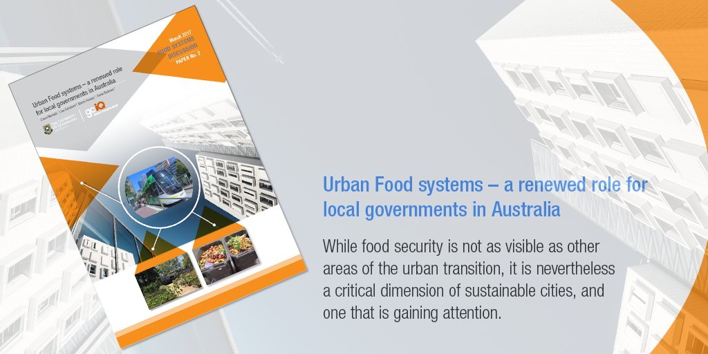 Urban Food systems – a renewed role for local governments in Australia https://t.co/VjCVc5O7eO @LGAQ @graceymuriuki https://t.co/EcA0QylaVc