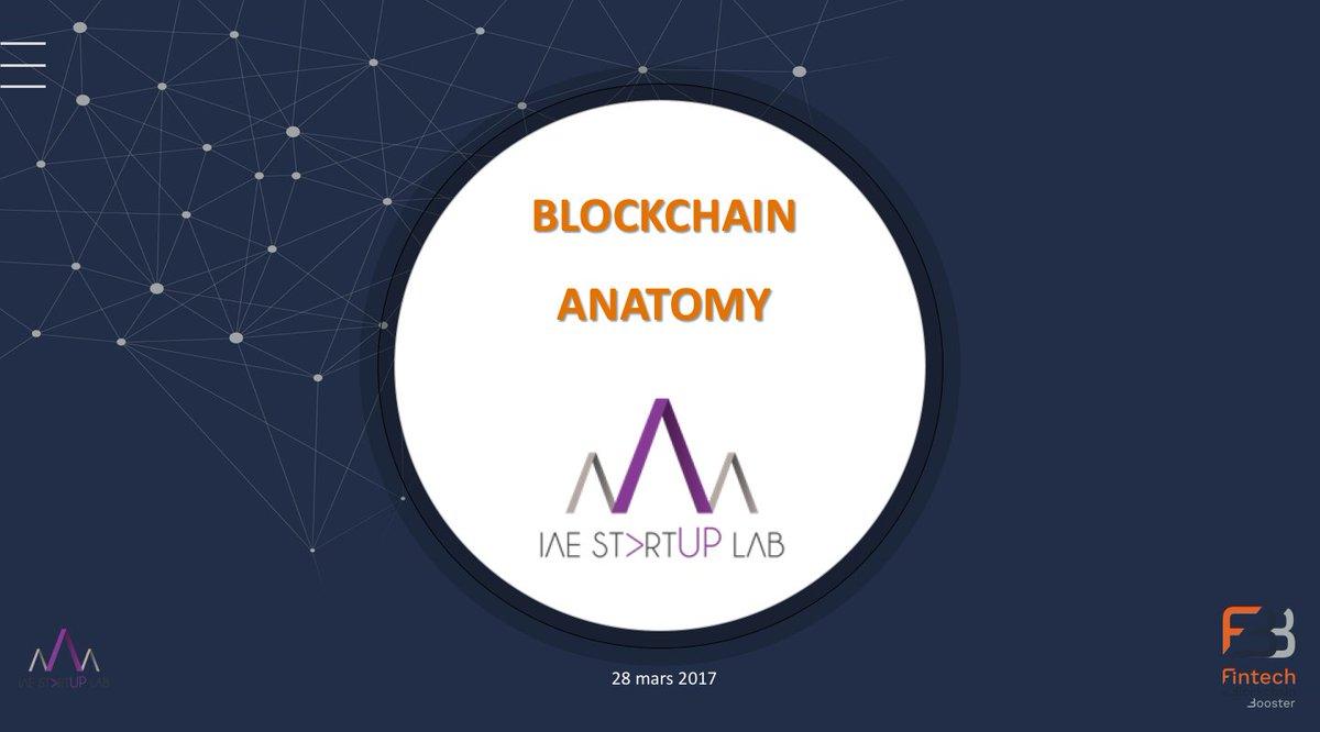 Ce soir à 18h à l&#39;@IAE_Montpellier @IAEStartupLab, &quot;Anatomie de la #Blockchain&quot;. Pour vous inscrire : iaestartuplab@gmail.com. <br>http://pic.twitter.com/N3qC0lLv94