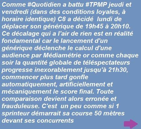 Bravo à #TPMP qui est redevenu hier le &quot;1er talk-show de France&quot; MAIS <br>http://pic.twitter.com/baQ0FUp4fe