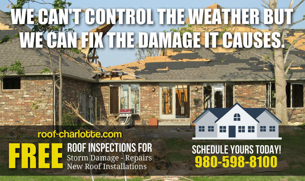 #Wind Damaged #Roof Call 980-598-8100 for a FREE Inspection #RT #follow #storm #home #fixit  http:// roof-charlotte.com  &nbsp;  <br>http://pic.twitter.com/ST79i6d4gg