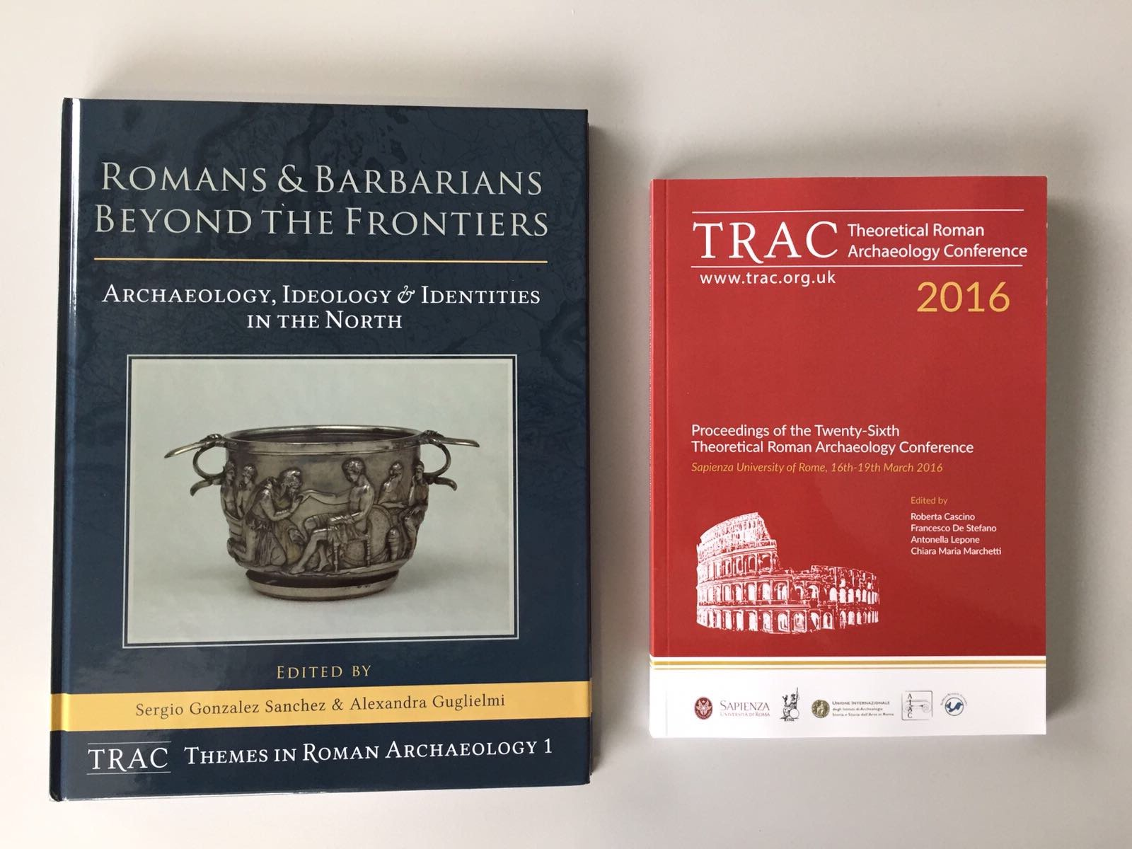 The publications have landed! pick up your copy of the 2016 Proceedings and Vol. 1 of our new Thematic Series at #TRACDurham https://t.co/uU7KP1PHmj