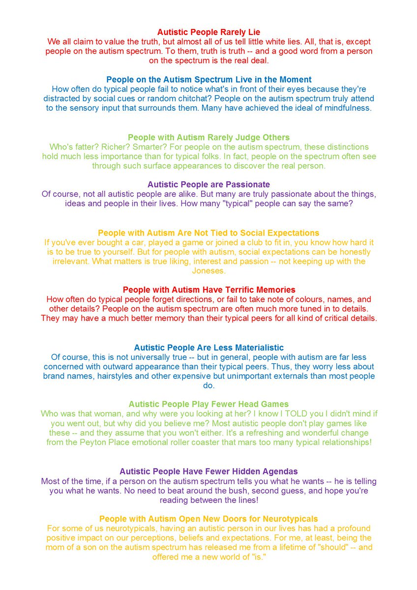 autus autus4autism twitter worldautismawarenessweek 10 positive facts about those on the autistic spectrum familiesunitednetwork charity disability autism awarepic twitter com