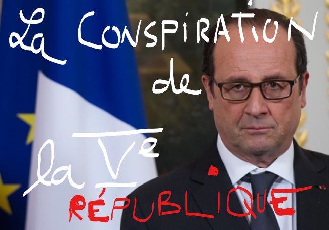 @KersausonDe DANGER #hollande confond GOUVERNER LA FRANCE avec COMPLOTER CONTRE #ELECTEURS et ses propres opposants politique &gt; MANIPULER<br>http://pic.twitter.com/96VjkLYrI5
