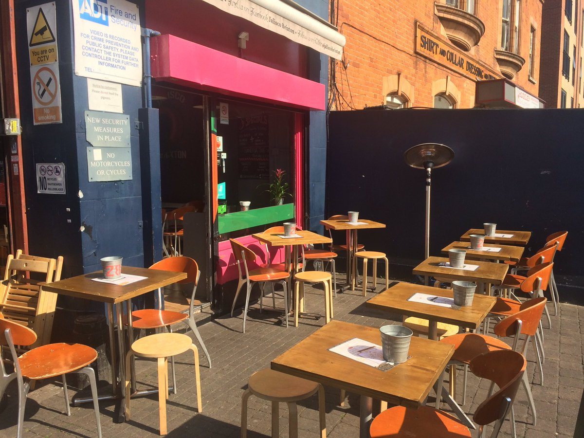 Ready 4 you. Enjoy our #luchdeal 12-5pm in our lovely #sunnyterrace. @BrixtonVillage @brixtonpound.pic.twitter.com/BhrOBYcCz6