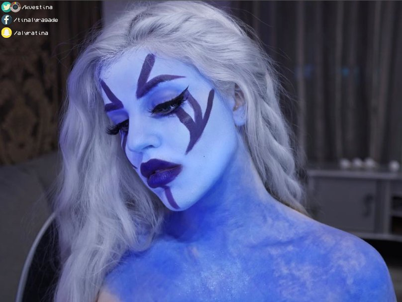 Reddit Dota 2 On Twitter Drow Ranger Face Paint First Post First