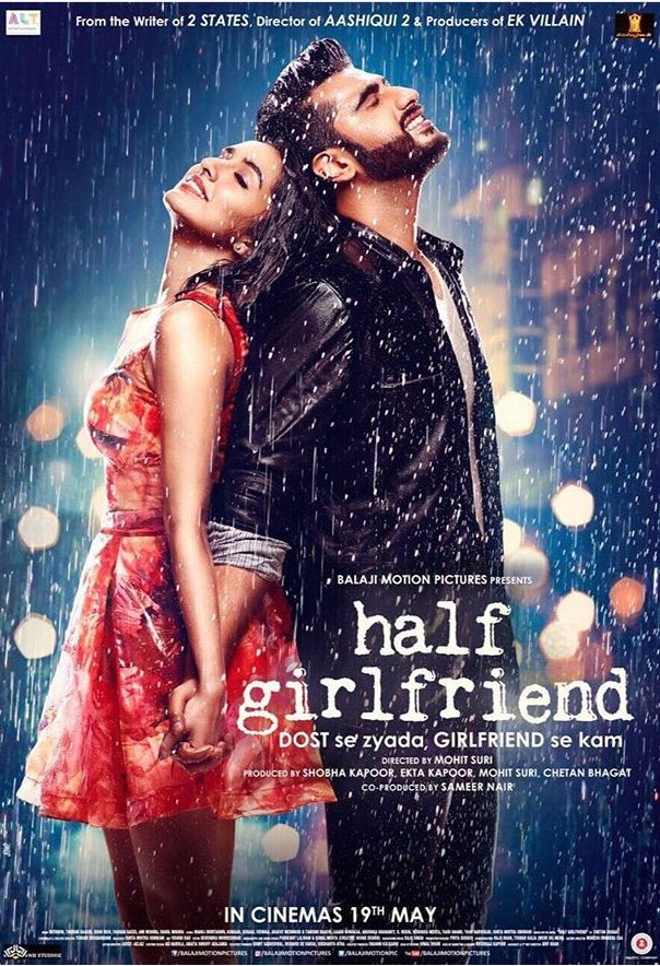 First Look Poster of Half Girlfriend starring Arjun Kapoor, Shraddha Kapoor