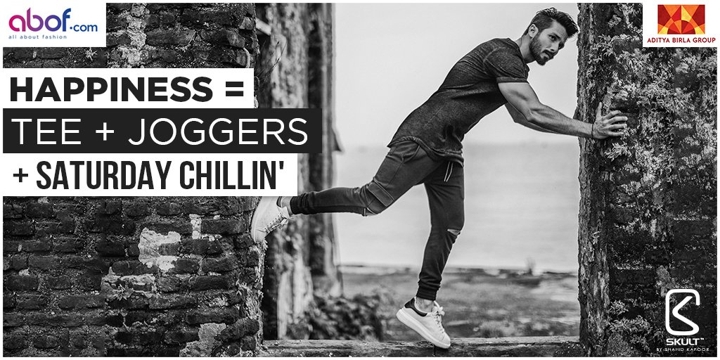 We can&#39;t wait for the weekend to slip into these:  http:// bit.ly/2n7Tgzw  &nbsp;   #SKULT #tees #joggers #saturdays<br>http://pic.twitter.com/INYdRHNYS2