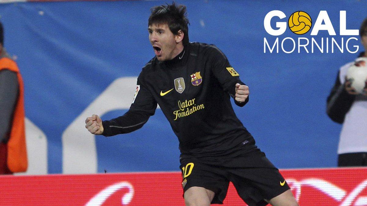G⚽️AL MORNING!!! 🔥 Leo Messi & Vicente Calderón 🔥 https://t.co/wQj...