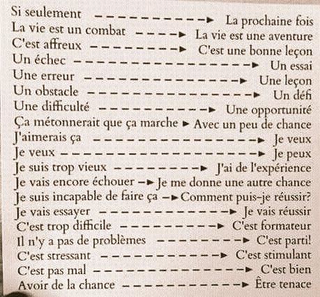 #France L&#39;expression impossible n&#39;est pas Française  Remplacer son vocabulaire négatif par une attitude positive  #positiveattitude<br>http://pic.twitter.com/WqUpVw6j5y