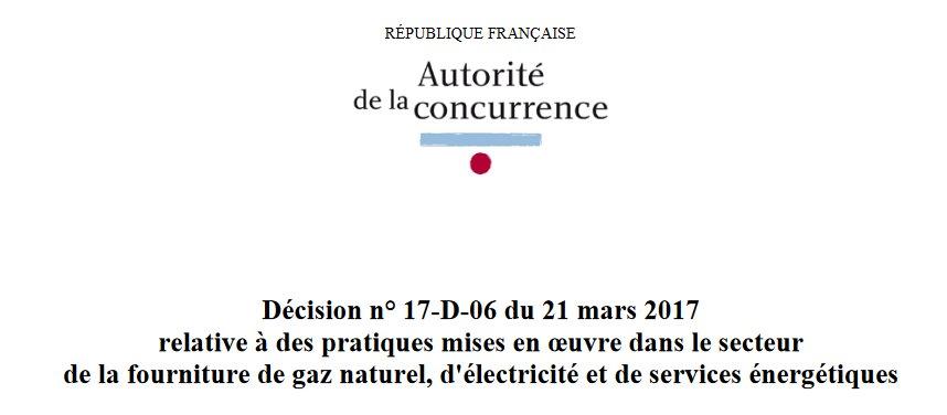 #new L'Autorité de la concurrence sanctionne Engie  http:// ift.tt/2nv4UIm  &nbsp;  <br>http://pic.twitter.com/scAXMYn44v