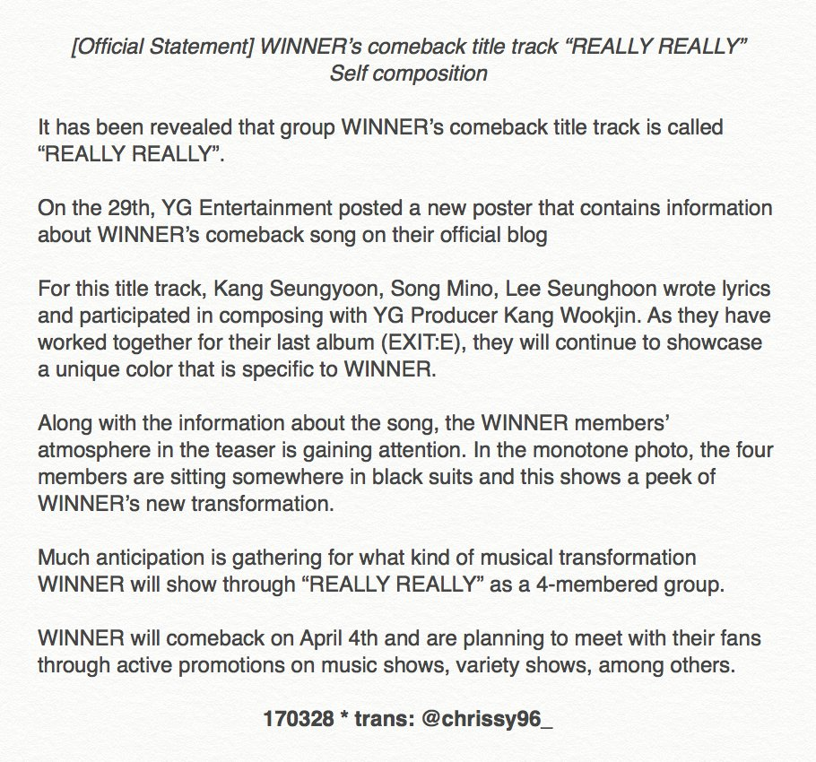 WINNER – FATE NUMBER FOR 'REALLY REALLY': omonatheydidnt