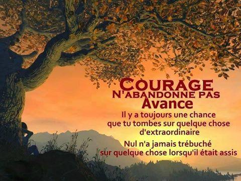 Courage, n&#39;abandonnez pas (jamais !), continuez à faire un pas de plus ! Bon mardi...  https://www. facebook.com/propulsetavie  &nbsp;   #motivation #neverGiveUp<br>http://pic.twitter.com/Dny57MkvaI