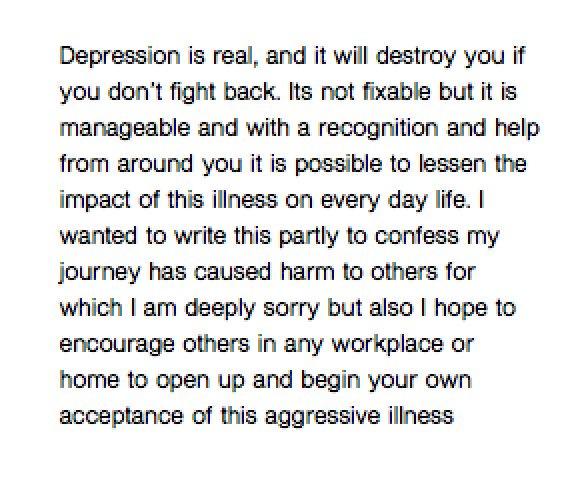 #DepressionLetsTalk #MentalHealth #MyStory #F1 #Motorsport #life https://t.co/vsUTk1hLvR